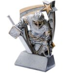 3D Resin Hockey Goalie 3D RST Series Resin Trophy Awards