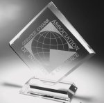 Clear Diamond Acrylic Award Achievement Awards