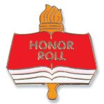 Honor Roll Lapel Pin Chenille Lapel Pins